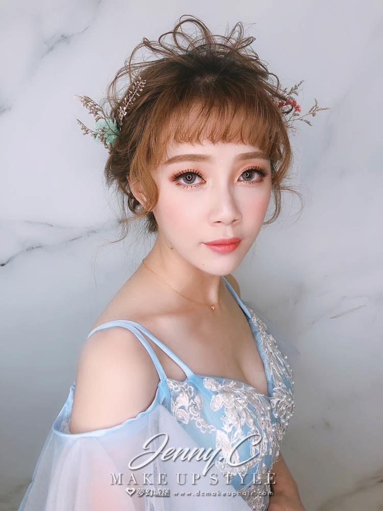 【新秘蓁妮】新娘造型創作 / 甜甜乾燥花造型