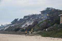 Gauteng fire fighters, two days after the fire at Buffalo Bay (Esther Blaauwwiekel) Tags: knysna visitknysna gardenroute southafrica zuidafrika tuinroute knysnafires