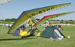 G-BYND at Sandown (chrysanyo) Tags: sandown uk microlight pegasus