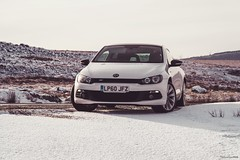 Rocco in the snow (technodean2000) Tags: south wales uk ©technodean2000 welsh nikon d810 lightroom photographer technodean2000 lr ps photoshop nik collection flick photo flickr wwwflickrcomphotostechnodean2000 www500pxcomtechnodean2000 vw volkswagen scirocco technodean2000yahoocouk