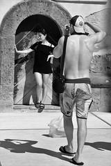 La dolce vita... (modestino68) Tags: bn bw estate summer coppia couple positano italia italy vacanze holiday ninorota