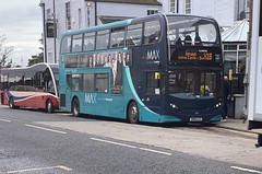 Arriva North East 7556 SN15 LLG (25/09/2019) (CYule Buses) Tags: servicex18 arrivamax arrivabus arrivanortheast enviro400 alexanderdennis alexanderdennisenviro400 sn15llg 7556