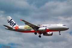JETSTAR A320 VH-VQH (Adrian.Kissane) Tags: aviation flight flying arriving australia sky outdoors airliner airline jet plane aircraft airbus aeroplane 2766 26122008 a320 vhvqh melbourne jetstar
