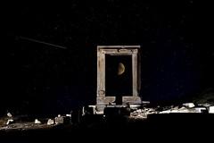 Who Mourns for Adonais? (ScopPics) Tags: naxos greece apollo temple portara montage moon stars boringshototherwise griechenland