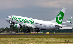 PH-HXG Transavia despegando de Amsterdam (Dawlad Ast) Tags: aeropuerto internacional international airport amsterdam ams holanda holland paises bajos polderbaan despegue takeoff mayo 2019 avion plane airplane aircraft spotting aviation boeing 7378k2 phhxg transavia sn 41355 b737 b738 737800 737