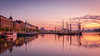 Sunrise (samiKoo) Tags: sunrise morning reflection reflections water sea boats orange blue yellow buildings architecture city urban cityscape cityscene cityview landscape sky morningsky street helsinki finland photography photo photograph picture canon 6d 1635mm wideangle