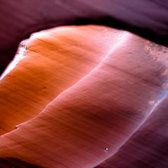 In Canyons 393 (noahbw) Tags: az arizona d5000 dof nikon rattlesnakecanyon abstract blur canyon depthoffield desert erosion light lines natural noahbw rock slotcanyon spring square stone explored