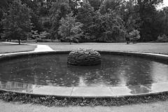 Děštivá fontána