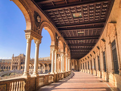西班牙廣場 Plaza de España (ArthurJo) Tags: 西班牙 sevilla spain seville plazadeespaña 西班牙廣場 塞維亞 塞維利亞 españa