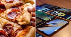 Restaurante oferece pizza gratuita para quem ficar sem mexer no celular (juliansantoscunha) Tags: restaurante oferece pizza gratuita para quem ficar sem mexer no celular