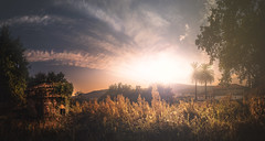 Reis (Noel Feans) Tags: pombal reis san cristovo teo galiza galicia solpor sunset sony a7 iii a7iii zeiss batis 18 panorama