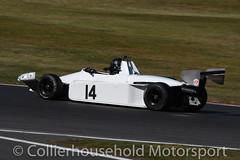 Classic F3 - R1 (26) Steve Maxted carrying damage (Collierhousehold_Motorsport) Tags: hscc brandshatch historicracing historicsportscarclub msv classicf3 formula3 f3 raltrt3 march793 reynard