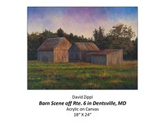 """Barn Scene of Rte. 6 in Dentsville, MD • <a style=""""font-size:0.8em;"""" href=""""http://www.flickr.com/photos/124378531@N04/48793349701/"""" target=""""_blank"""">View on Flickr</a>"""