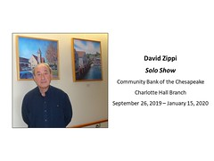 "David Zippi, Artist, Community Bank of the Chesapeake, Charlotte Hall • <a style=""font-size:0.8em;"" href=""http://www.flickr.com/photos/124378531@N04/48793349831/"" target=""_blank"">View on Flickr</a>"