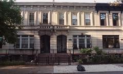 Crown Heights (neilsonabeel) Tags: nikonfm2 nikon nikkor film analogue brooklyn newyorkcity building rowhouse crownheights street