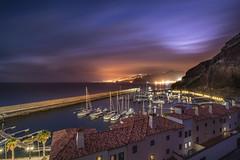 Distant lights (Sizun Eye) Tags: madeira canical marina port night le longexposure sony sonyalpha 7rm2 1635mm sonyfe1635mmf28gm 7rmii