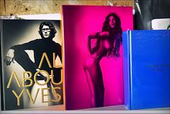 all about yves (bostankorkulugu) Tags: meres meresbookstore nicosia lefkosia lefkosa cyprus kypros kibris bookstore ysl book naked nude woman yves yvessaintlaurent europe fashion mode moda