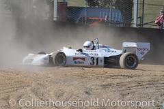 Classic F3 - R1 (34) Stephen Pegram suffers an off on last lap (Collierhousehold_Motorsport) Tags: hscc brandshatch historicracing historicsportscarclub msv classicf3 formula3 f3 raltrt3 march793 reynard