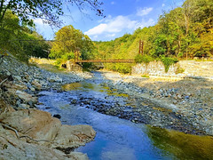 Grist Mill Trail - Patapsco River (annette.allor) Tags: