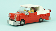 Chevy Bel Air (de-marco) Tags: lego car vehicle town city chevy chevrolet 4wide 4wlc belair classic vintage oldtimer