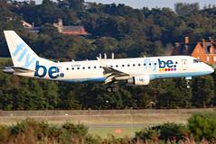 G-FBJI_09 (GH@BHD) Tags: gfbji embraer erj erj175 erj175200std flybe belfastcityairport be bee bhd egac aircraft aviation airliner regionaljet