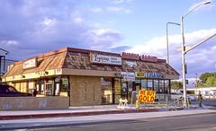 June 2019 - South Central, CA (maboy_SugarBear) Tags: yashica contax provia fuji fujifilm ishootfilm losangeles street crenshaw slauson nipsey hussle purple yellow