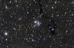 NGC 654, LDN 1332 & VdB 6 in Cassiopee (AlZinki) Tags: astronomie astronomy astrophographie astrophotography sky stars skywatcher deepsky nebuleuse nebula cassiopee
