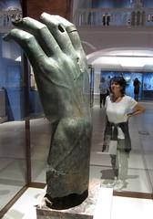 Emperor Constantine's hand (vittorio vida) Tags: statue museum ermitage hermitage louvre constantine hand finger sculpture roman rome emperor stpetersburg russia
