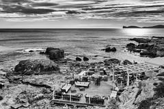 bar on the beach (*magma*) Tags: sardegna sardinia italy alghero spiaggia beach tower torre bar riservato