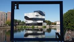framed experimenta (1elf12) Tags: smileonsaturday framed heilbronn experimenta architektur germany deutschland neckar river flus rahmen frame museum