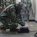U.S. Marines conduct a gas chamber training event on Camp Hansen, Okinawa, Japan