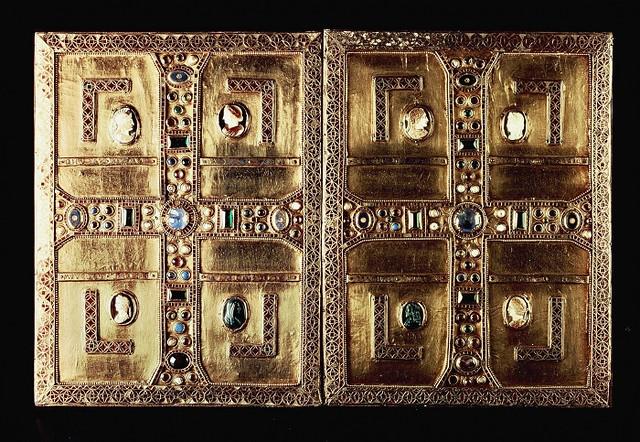 35 Евангелие Теолинды королевы лангобардов VI в