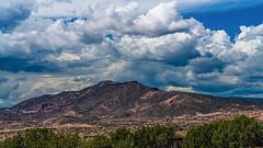 Monsoon Clouds over Sierra Negra (LDMcCleary) Tags: monsoon clouds sierranegra mountain abiquiu newmexico