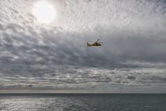 Coastguard (michael_hamburg69) Tags: netherlands niederlande coastguard yellow gelb helikopter hubschrauber notarzt luftrettung oonhv