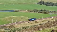 DRS Class 57_0Zxx_WCML_Wandel, Scotland_210919_02 (DS 90008) Tags: drs class57 railway locomotive dieselloco dieseltraction train wcm westcoastmainline ronnie lok carlisle track landscape wandel