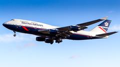Boeing 747-436 G-BNLY British Airways - Landor Retro Livery (William Musculus) Tags: aviation plane airplane spotting airport london william musculus heathrow egll lhr boeing 747436 gbnly british airways landor retro livery 747400 ba baw special scheme