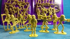 Mummy Army! (MayorPaprika) Tags: mini figs figure paprihaven pvc miniature smallscale figurine diorama toy story scene custom bricks plastic vinyl dollargeneral mummyarmy