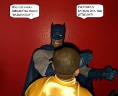 Robin never learns to just keep his mouth shut. (Pablo Pacheco 85) Tags: batman robin batmanrobin dccomics dcheroes hottoys burtward sideshow