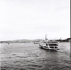 Beni bekleme kaptan (efeardic) Tags: yashica mat 124 g ilford 125 bnw black white street photography tlc fishing boy kid portrait sea