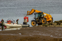 2019 - 09 - 24 - EOS 600D - The Days Catch - Cockle Fishermen returning - 003 (s wainwright) Tags: 2019 september deeestuary flintshirescoast northwalescoast cocklefishers cocklers walescoastpath riverdee canon600d eos600d