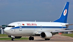 EW-366A (AnDyMHoLdEn) Tags: belavia 737 egcc airport manchester manchesterairport 23l