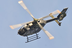 EC135 at Sanicole 2019 (Spaak) Tags: ec135 eurocopter airbus helicopters helicopter helikopter germanairforce luftwaffe vliegtuig airplane aircraft sanicole airshow 2019 isa2019