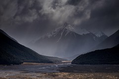 Southern Alps storm. NZ (ndoake) Tags: