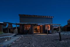 Mercantile (Nocturnal Kansas) Tags: night nocturnal moon full led1 protomachines d800 nikon castledome arizona mining mercantile longexposure lightpainting nightphotography