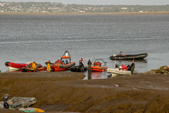 2019 - 09 - 24 - EOS 600D - The Days Catch - Cockle Fishermen returning - 006 (s wainwright) Tags: 2019 september deeestuary flintshirescoast northwalescoast cocklefishers cocklers walescoastpath riverdee canon600d eos600d
