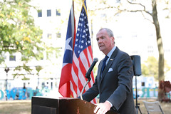 Governor Phil Murphy attends a ceremony remembering the livest lost during Hurricane Maria in Puerto Rico in Newark on Wednesday, September 25th, 2019. (GovPhilMurphy) Tags: hurricanemaria puertorico pr newark