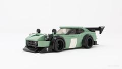Datsun 240z - Time Attack (PleaseYesPlease) Tags: moc lego speedchampions datsun datsun240 240 240z z nissan jdm restomod timeattack timetrials tuned slammed scrapemetal stanced stance leeschulz