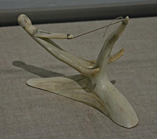 Shaman Whale Hunter by Nick Sikkuark, Toronto Biennial of Art, 259 Lake Shore Boulevard East, Toronto, ON