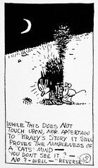 1920 Krazy Kat explaining Gender Fluidity Five 2749 (Brechtbug) Tags: 1920 krazy kat explaining why gender fluidity is factor sometimes he she comic strip newspaper news paper sunday funnies daily comics funny humor satire character syndicate artist george herriman cartoonist pen ink illustration art 2019 worm ignatz mouse mice cat cats