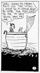 1920 Krazy Kat explaining Gender Fluidity Three 2742 (Brechtbug) Tags: 1920 krazy kat explaining why gender fluidity is factor sometimes he she comic strip newspaper news paper sunday funnies daily comics funny humor satire character syndicate artist george herriman cartoonist pen ink illustration art 2019 worm ignatz mouse mice cat cats